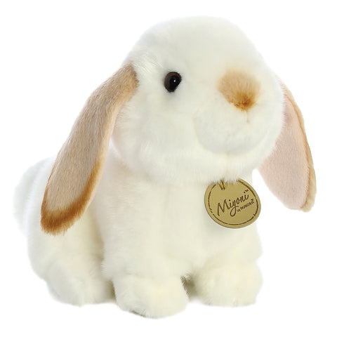 Aurora Miyoni - Lop Eared Rabbit with Tan Ears 8in