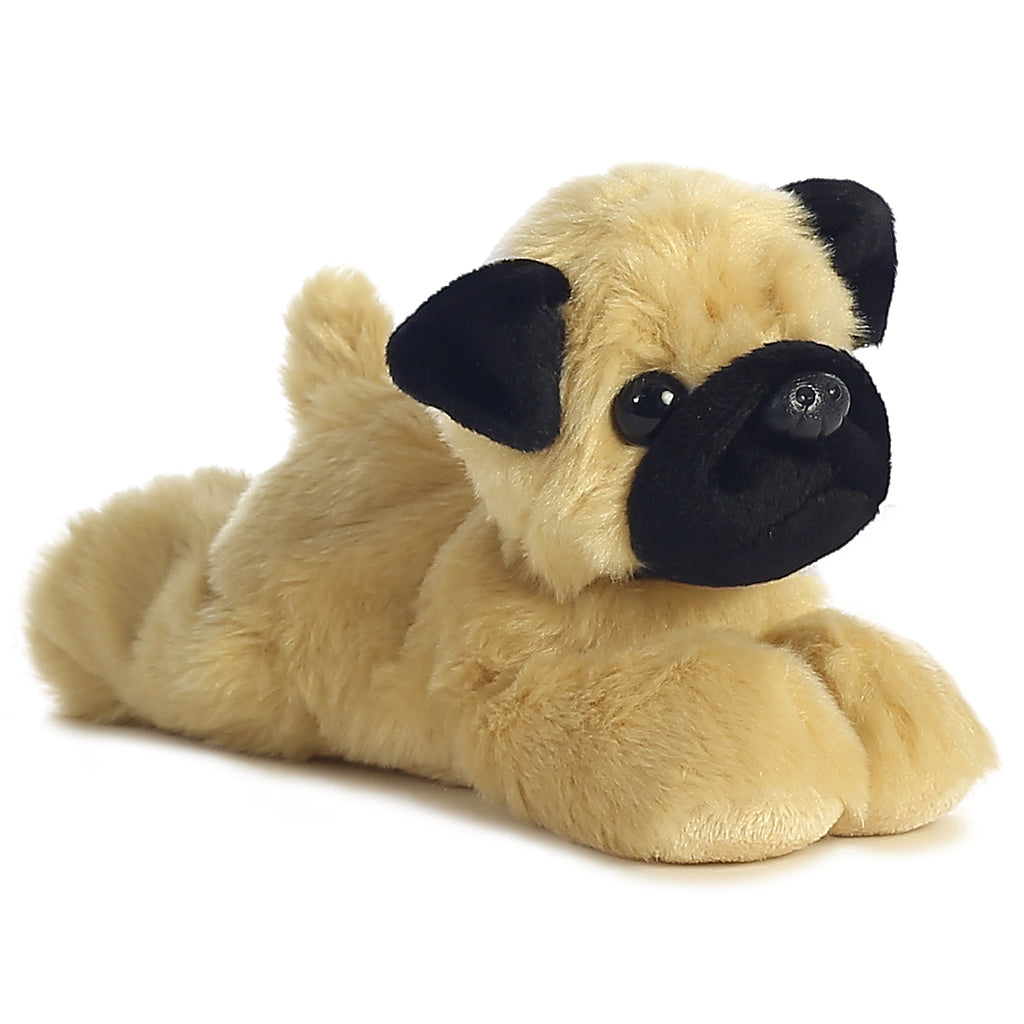 "Aurora Mini Flopsie - 8"" Mr.Pugster"