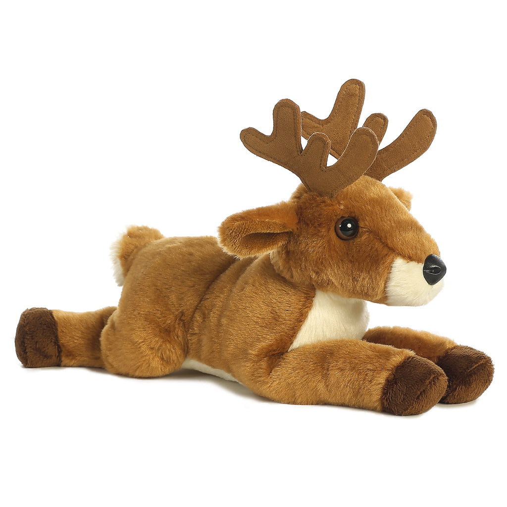 "Aurora Flopsie - 12"" White Tailed Buck"