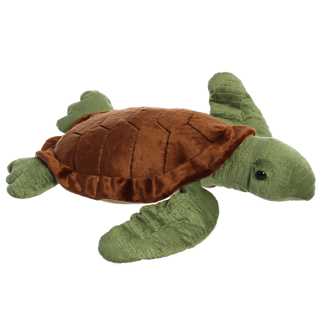 "Aurora Super Flopsie - 27"" Sea Turtle"