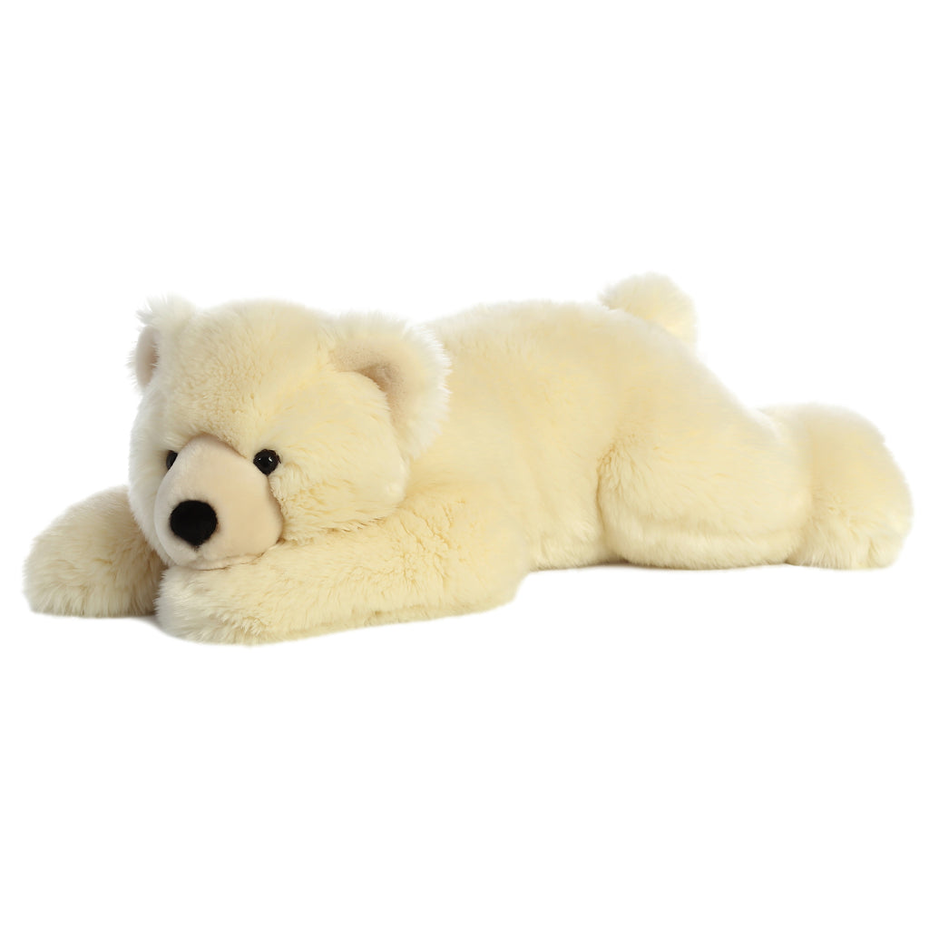 "Aurora Super Flopsie - 28"" Slushy Polar Bear"