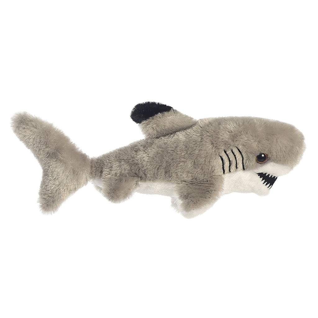 "Aurora Mini Flopsie - 8"" Black Tipped Shark"