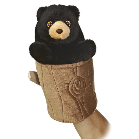 Black Bear Pop Up Puppet