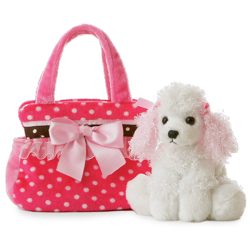 "Aurora Fancy Pals - 8"" Fancy Pink Polka Dot"