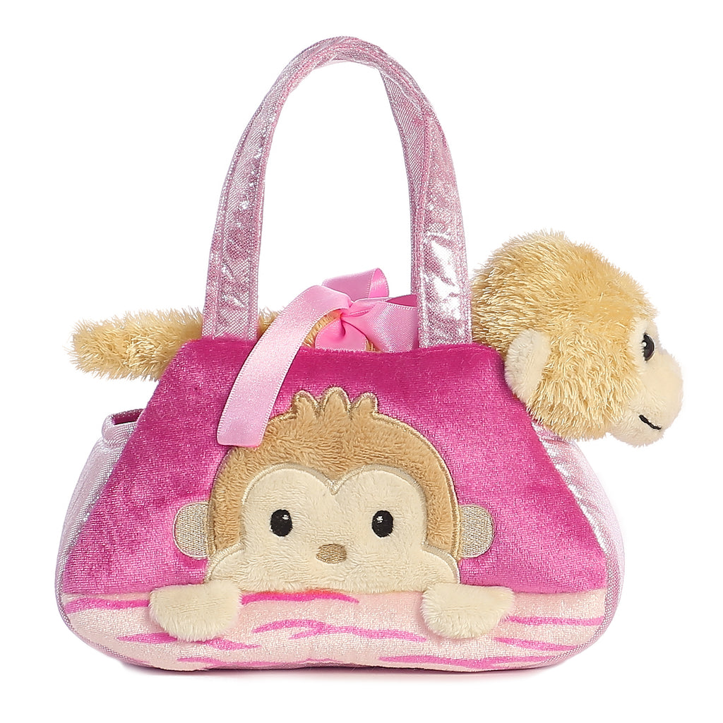 "Aurora Fancy Pals - 7"" Peek-A-Boo Monkey"