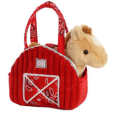 Fancy Pals - Red Barn Pet Carrier 7in