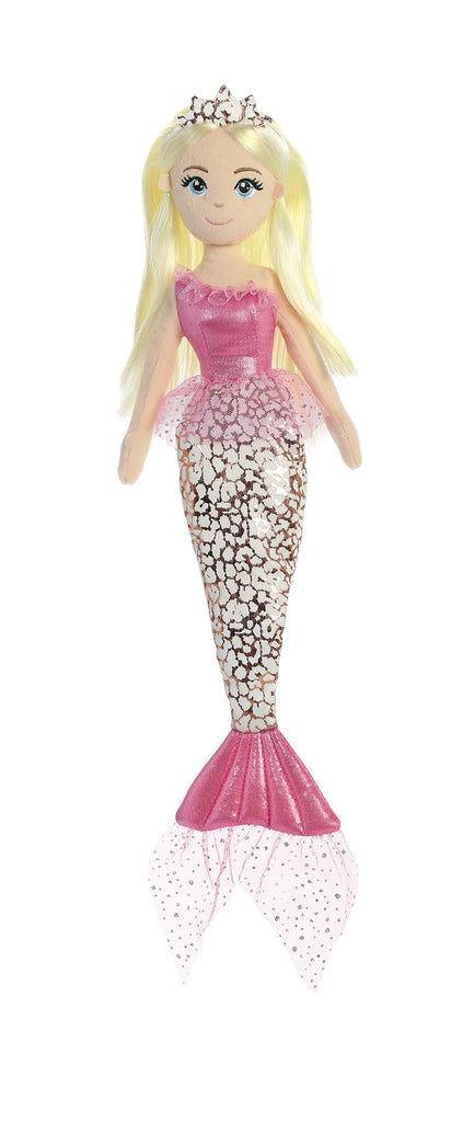 "Aurora Sea Sparkles - 18"" Jungle Cheetah Pink"
