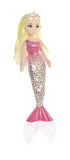 Sea Sparkles - Jungle - Cheetah Pink 18in