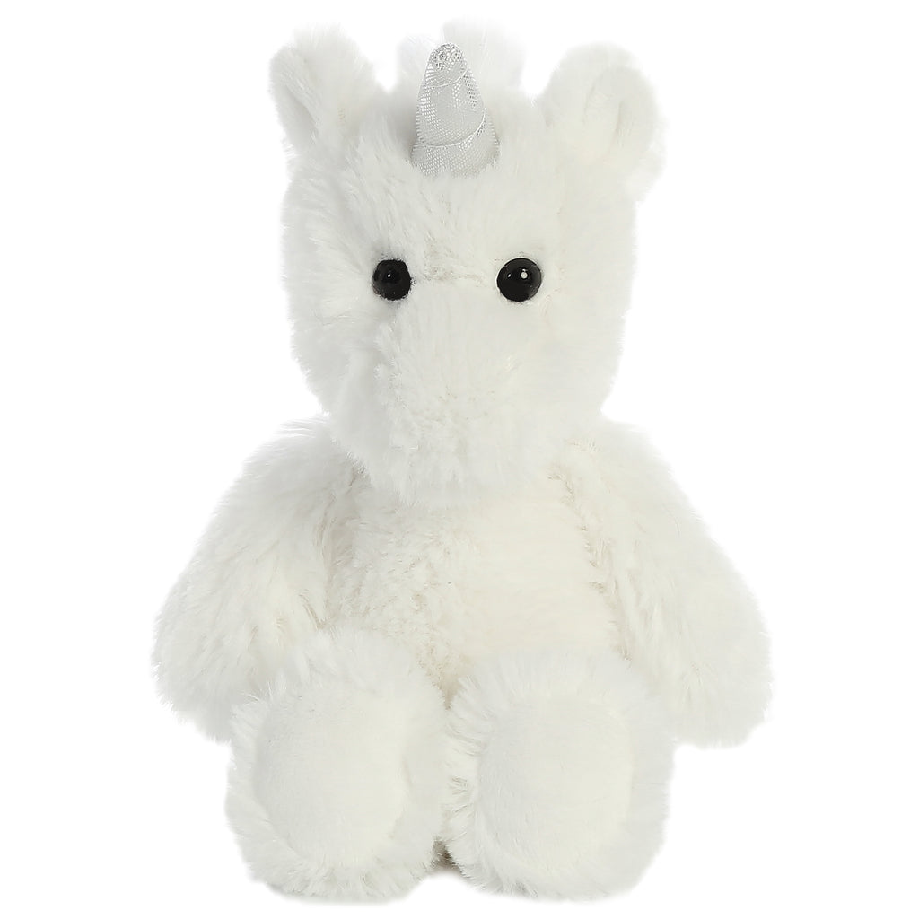 "Aurora Cuddly Friends - 8"" Unicorn White"
