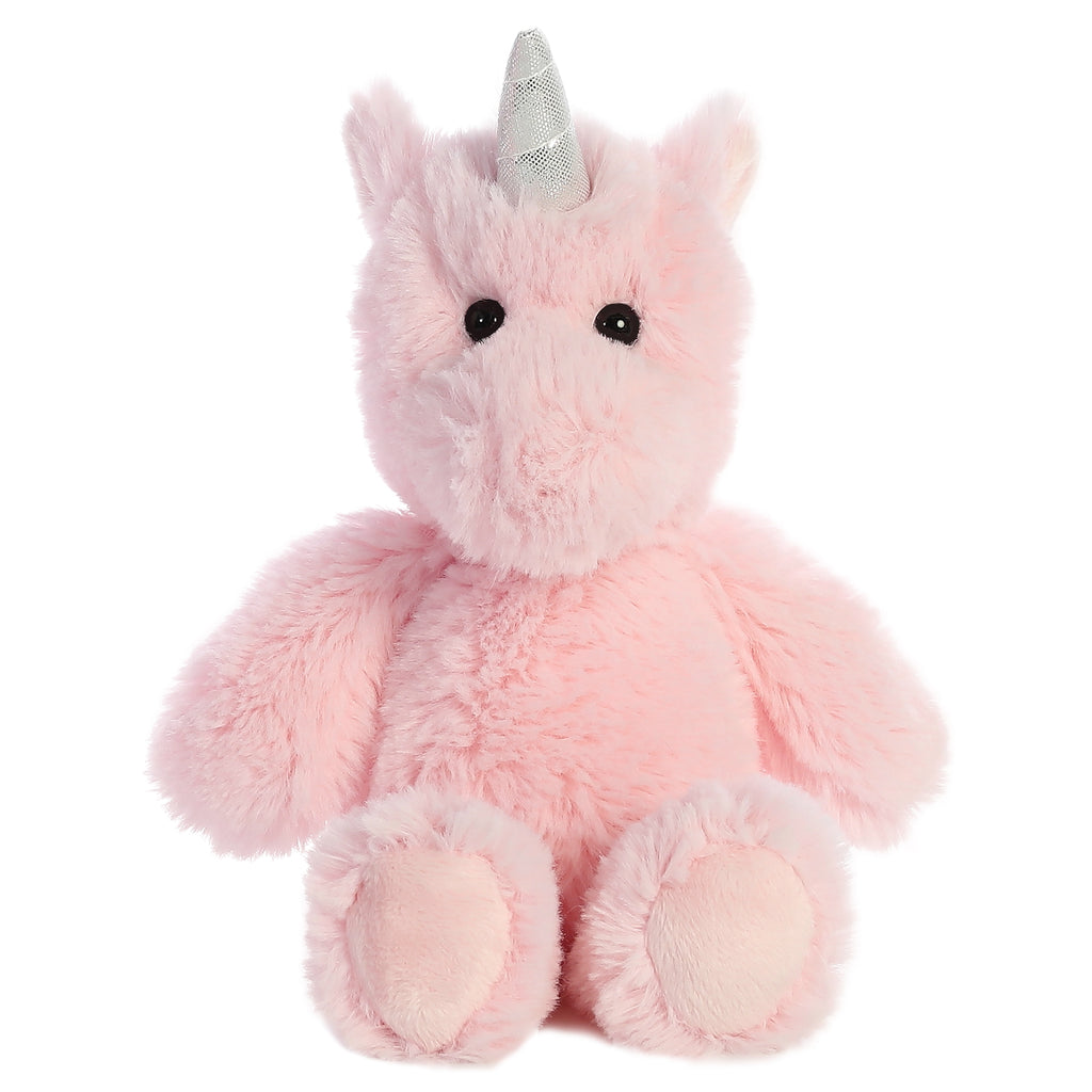 "Aurora Cuddly Friends - 8"" Unicorn Pink"