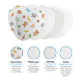 Aurora - YooHoo - Dr. Smile K - 15 Pack - 4-Layer Filter Child Unisex Food Disposable Face Mask