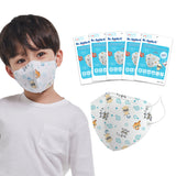 Aurora - YooHoo - Dr. Smile K - 15 Pack - 4-Layer Filter Child Unisex Ladybug Disposable Face Mask