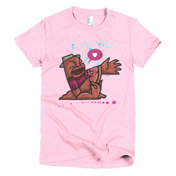 Lover Boy women's t-shirt pink
