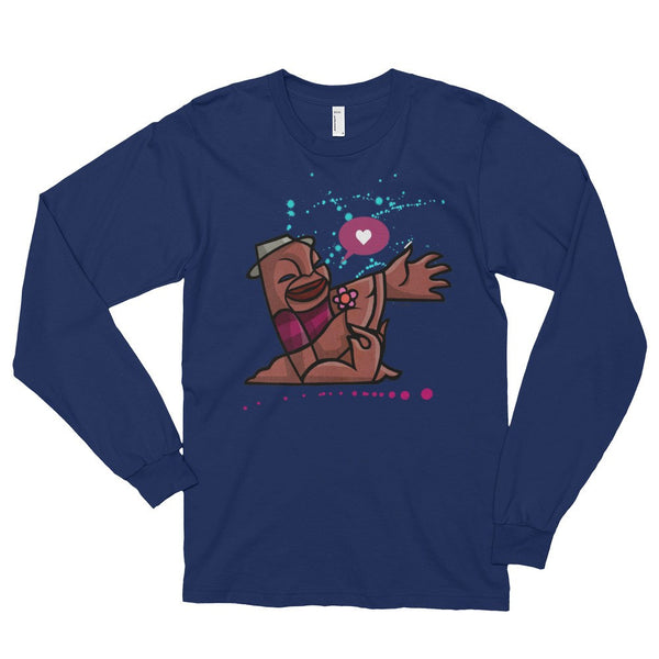 Lover Boy long sleeve t-shirt blue