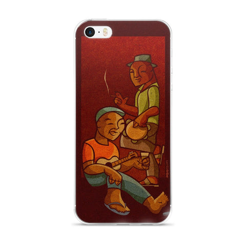 Red Hair Samba iPhone case
