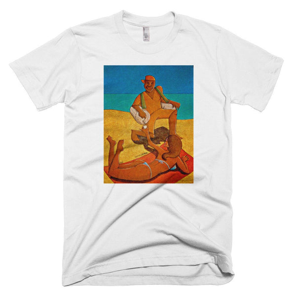 Beach Ice-Tea men's t-shirt
