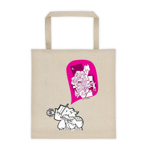Samba Night tote bag