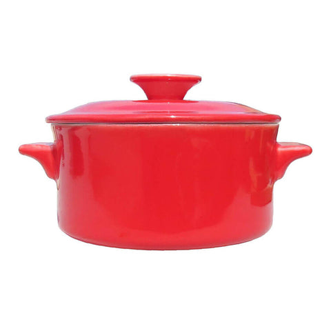 Casserole 1lt – Canterbury Red