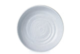 Potter's Mark Pasta Bowl 21cm - Glazed in Layered Grey