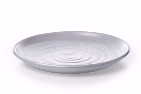 Potter's Mark Lunch Plate 25cm - Glazed in Layered Grey