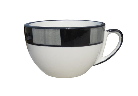 Large Cup – Canterbury Black