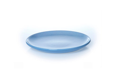 Classic Coupe Lunch Plate 25cm - Glazed in Rad Blue