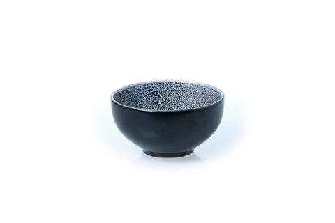 Classic Coupe Rice Bowl 15cm - Glazed in Black Foam