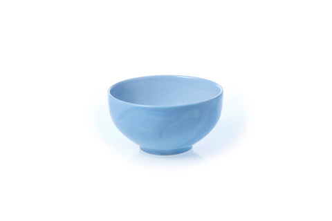 Classic Coupe Rice Bowl 15cm - Glazed in Rad Blue