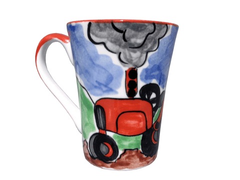Tractor collection mug