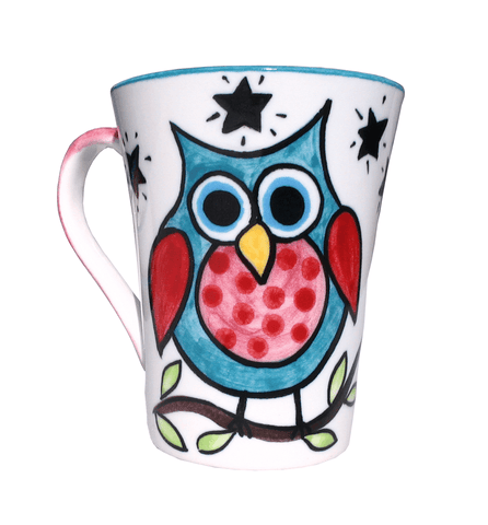 Owl collection mug