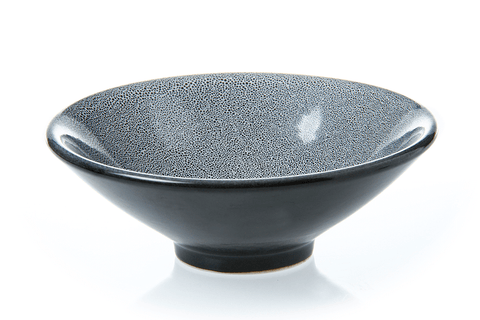 Medium Footed Bowl - Granite