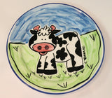 Cow lunch plate