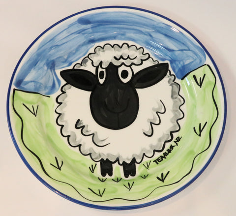 Sheep Lunch Plate