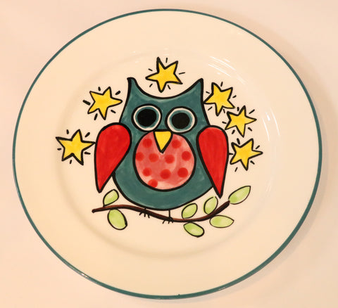 Owl Lunch plate