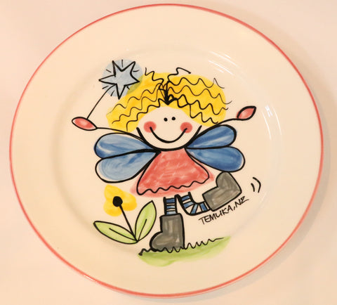 Fairy lunch plate