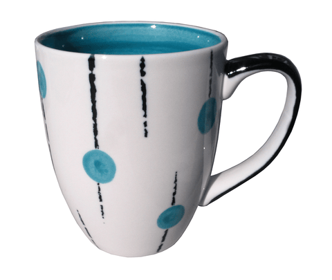 Lollipop mug - Aqua