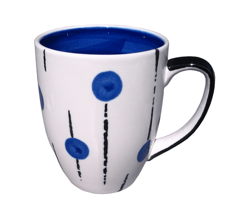 Lollipop mug - Blue