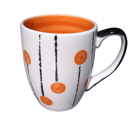 Lollipop mug - Orange