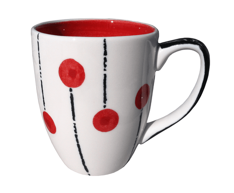 Lollipop mug - Red