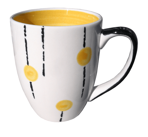 Lollipop mug - Yellow