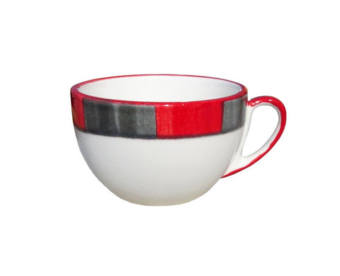 Large Cup – Canterbury Red