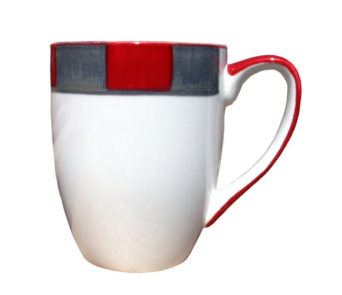 Platinum Mug – Canterbury Red