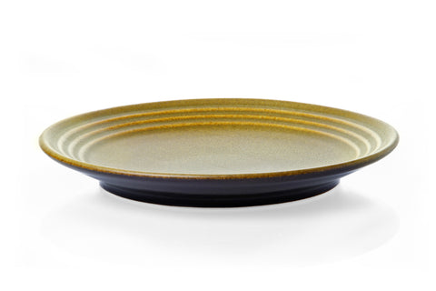 21cm Ribbed plate - Tussock
