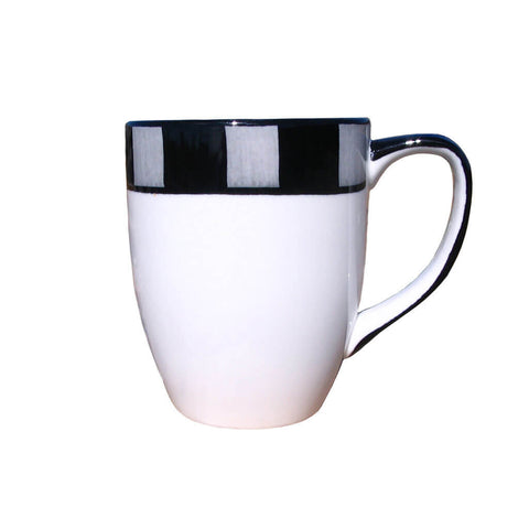 Platinum Mug – Canterbury Black