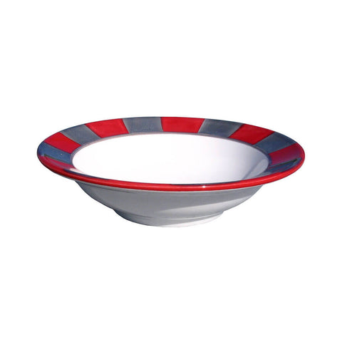 Dessert Bowl – Canterbury Red-Grey