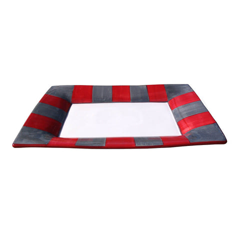 Rectangular Platter – Canterbury Red