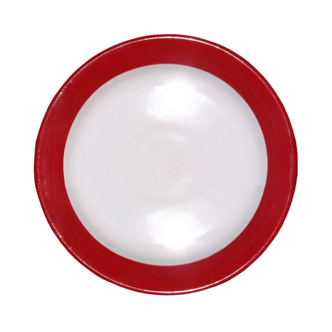 Side Plate – Canterbury Red