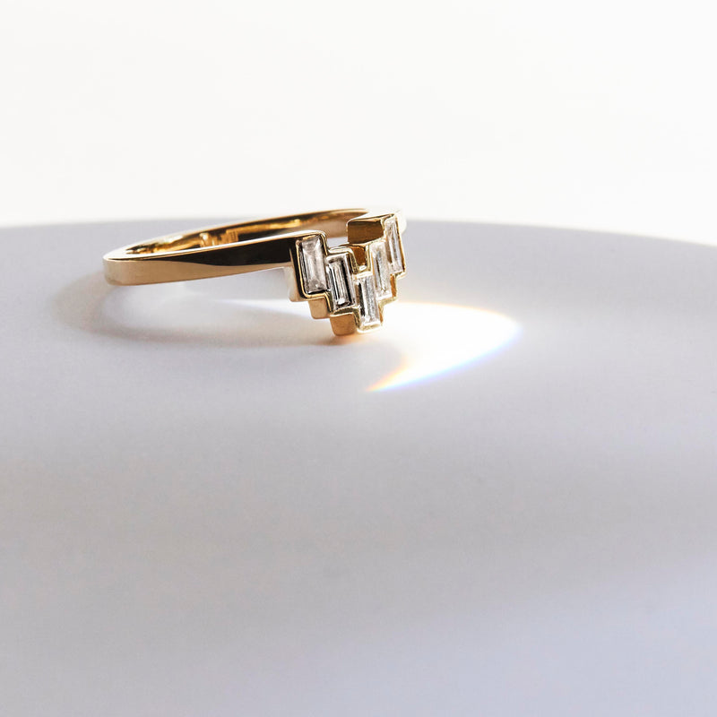 OTIS RING / BAGUETTE DIAMONDS