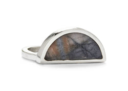 one half ring / picasso marble