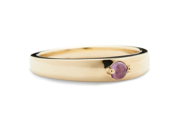 COCO RING / PINK SAPPHIRE